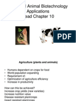 BT101 ST L7 Plant and Animal Biotechnology