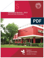 Faculty of Management Studies FMS