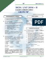 ExamenCienciasCompletoUNT2014 IIB