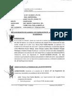 Sentencia Caso Chaupe - 05.08.2014