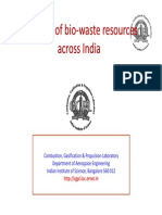Mapping of Bio-waste Resources Across India