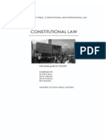 Constitutional Law Study Guide