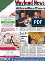 The Wayland News September 2014