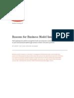 Beacons for Business Model Innovation