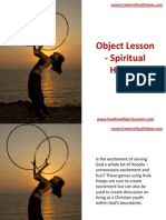 Object Lesson - Spiritual Hoopla
