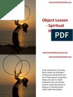 Object Lesson - Spiritual Hoopla