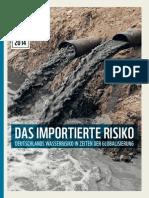 WWF Studie Wasserrisiko Deutschland