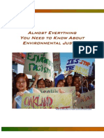 Almost Everything You Need to Know About Environmental Justice English Version