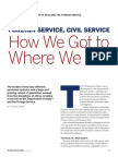Foreign Service, Civil Service   How We Got to Where We Are by Harry Kopp