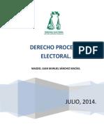 Derecho Procesal Electoral Tercera Semana