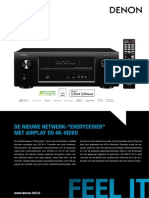 Denon AVR-2113 Productinformatie