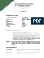 Silabo de Ing Electronica I Ciclo