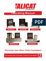 Gas Flow Controller Manual