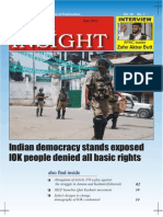 Monthly Kashmir Insight July 2014