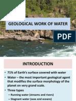 Geological Work of Water