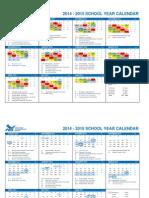 copy of six day rotation calendar