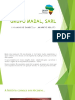 Grupo Madal, Sarl 110 Anos de Zambezia