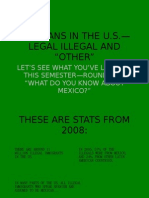 "Mexicans in the u.s.— Legal Illegal and ""other"""