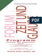 Programmfolder Herbst 2014