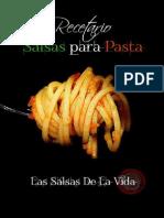Anon - Recetario Salsas Para Pastas