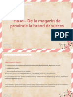 HM – De la magazin de provincie la brand de succes