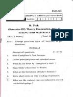 Previous Year UPTU End Sem Exam Papers - SOM / MOS