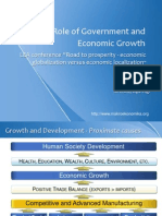 Role of Government and Economic Growth