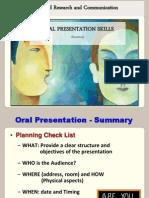 FG 03 Oral Presentation Part 1 Summary