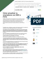 Cómo Actualizar Tu Smartphone Con KIES o FOTA _ Samsung Smartphones Article