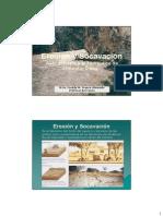 Erosion y Socavacion