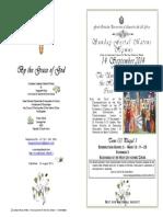 2014 - 14 Sept - Exaltation Holy Cross - Hymns