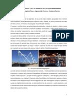 Criterios Basicos Para El Ensanche de Los Puentes de Piedra