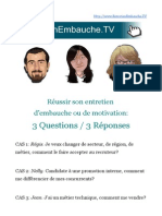 Exemple Coaching Entretien Embauche Cas Concrets Simulations