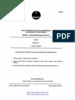 Penang Trial SPM 2013 Chemistry