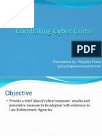 Combating Cyber Crime
