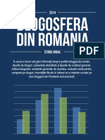 Blogosfera Din Romania in 2014