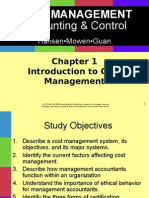 Introduction to Cost Management