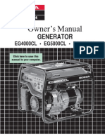 Honda Generator Manual Eg6500 4000cl 5000cl