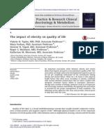 2013 Best Prac Endoc - Impacto de La Obesidad en La Calidad de Vida