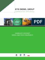 BDG Warranty Booklet