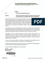 NEA Memo to ECs No. 2014-013 - Conduct of Special District Elections After a Failure of Electiions Due~1