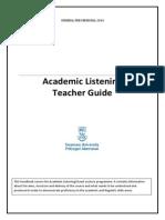 Teacher Listening Handbook Gen Presessional 2014