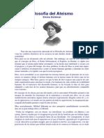 Filosofia Del Ateismo Emma Goldman
