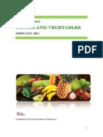 Sector Brief Fruits Vegetables 2011