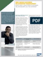 Web-Based Customer Relationship Management