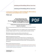 African American Poems-poets Lesson Plan