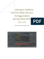 Membangun Aplikasi RESTful Web Service Menggunakan Spring Web MVC