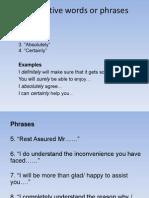 25 Positive Phrases