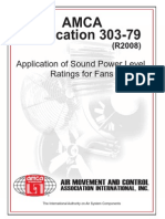 Application of Sound Power Level