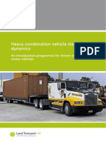 Heavy Combination Vehicles